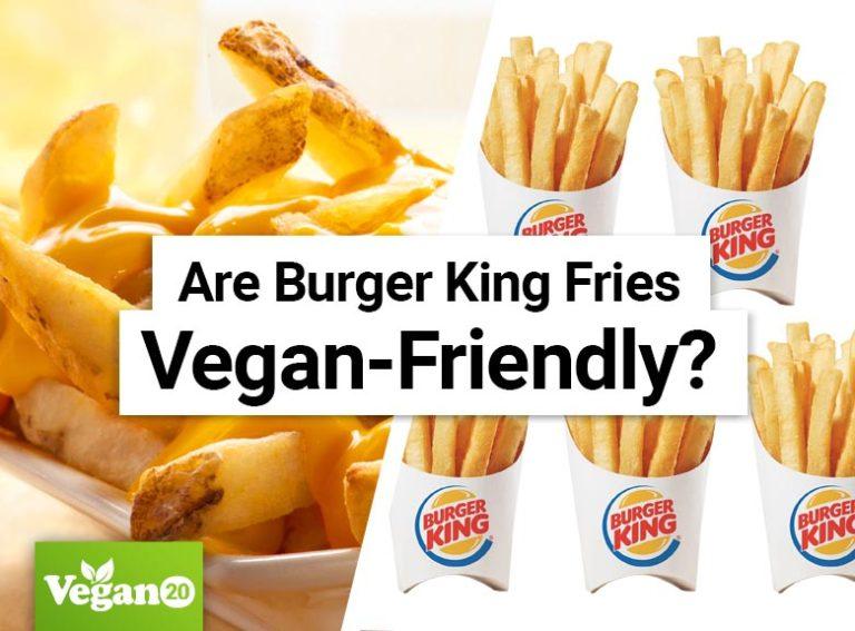 Are Burger King Fries Vegan Friendly?