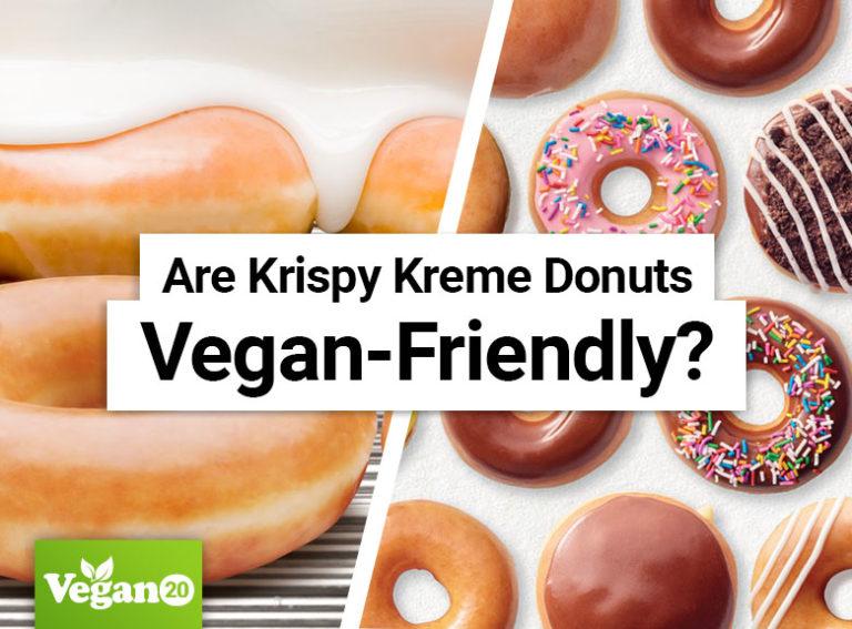 Are Krispy Kreme Donuts Vegan-Friendly?