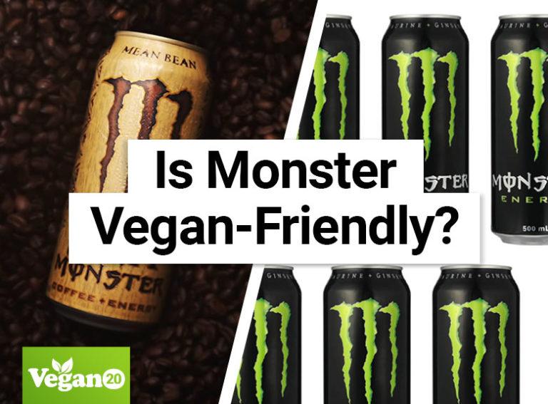 Is Monster Energy Drink Vegan-Friendly?