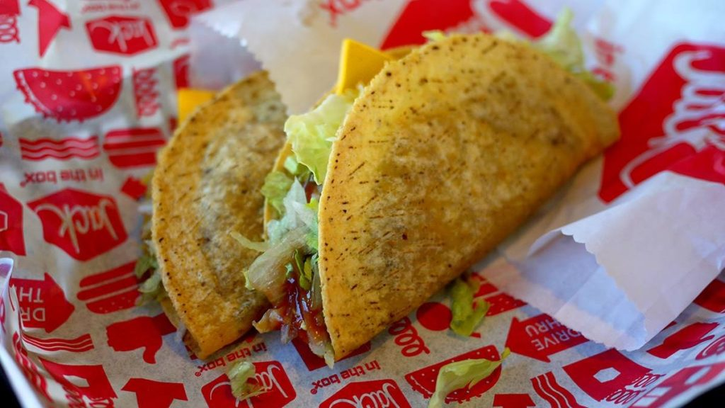 Jack in the Box Tacos