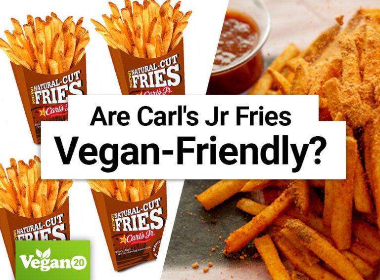 Are Carl's Jr Fries Vegan