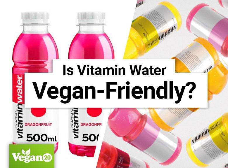 Is Vitaminwater Vegan?